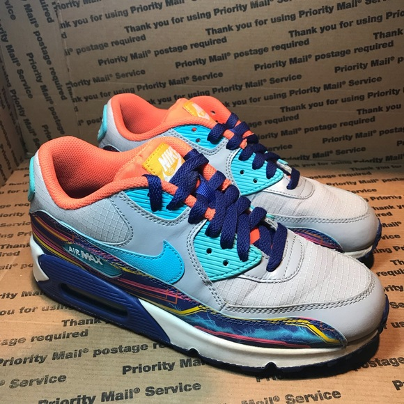 finest selection 7a34d 4f3dd Nike Air Max  90 Grey Clearwater Gold WM 7 Y-5.5.  M 5cd36c1d969d1ff0eb48827f. Other Shoes ...